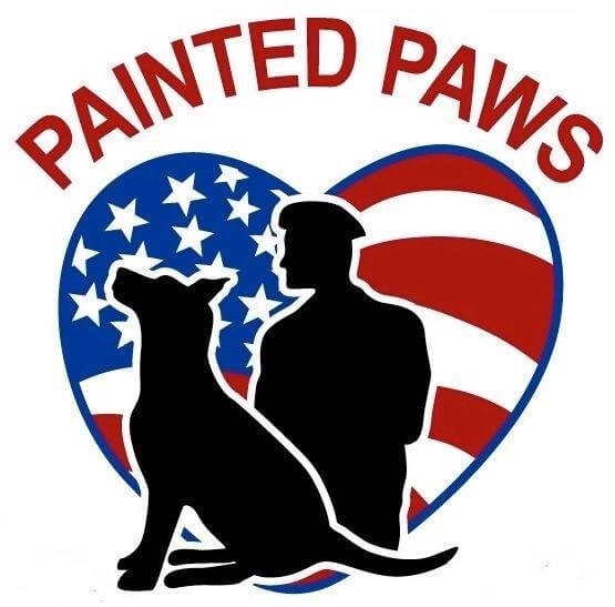 painted paws logo
